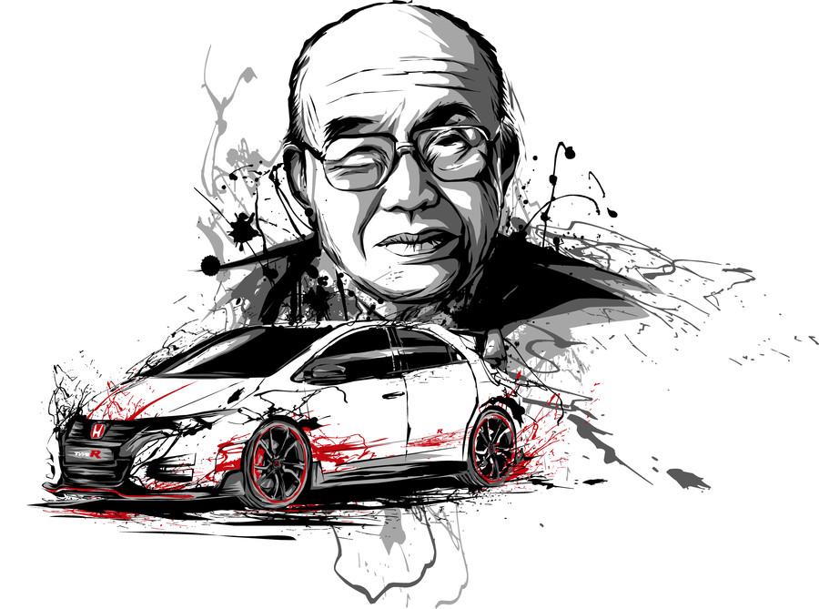 Soichiro Honda és Honda Civic